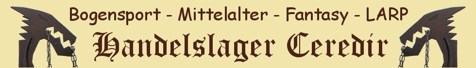 Handelslager Ceredir - Reenactment, Mittelalter, LARP, Fantasy und Bogensport-Logo